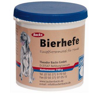 Backs Bierhefe 750g für Hunde 001