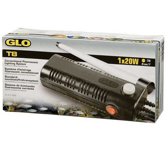 Hagen GLO T8-Vorschaltgerät,1x20 Watt,Leuchteinheit A1565