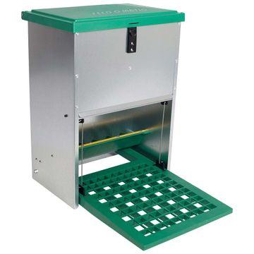 Futterautomat mit Trittplatte, für 12 kg 001