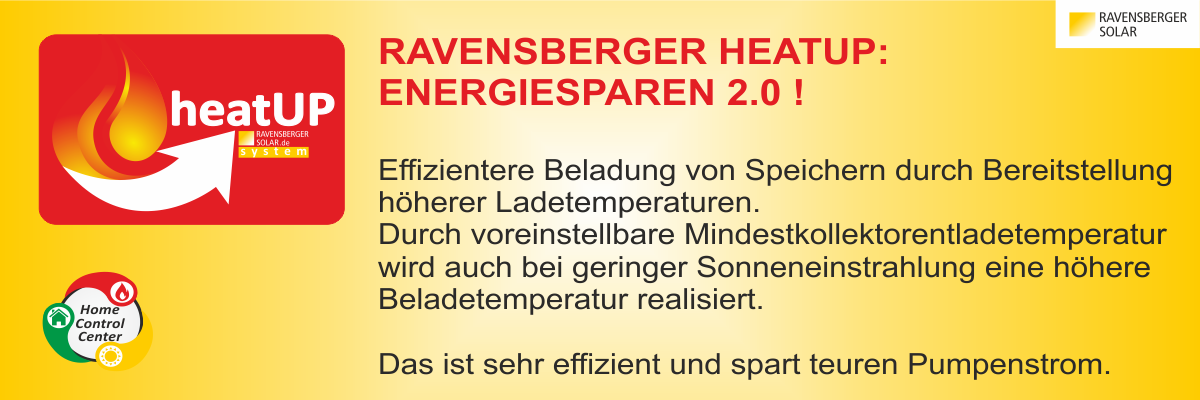 Ravensberger heatUP Funktion