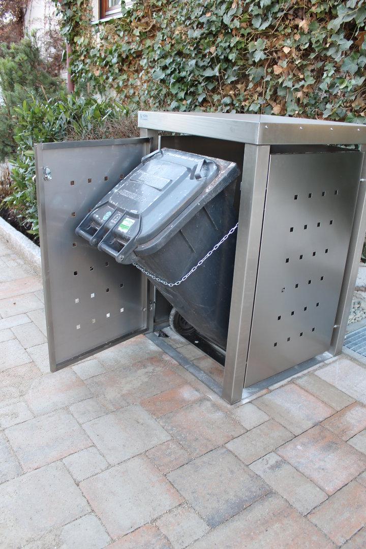 Kippvorrichtung für Mülltonnenboxen