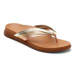 Vionic Zehensteg Sandale Catalina mixed metallic Gr. 36 - 43 Bild 1