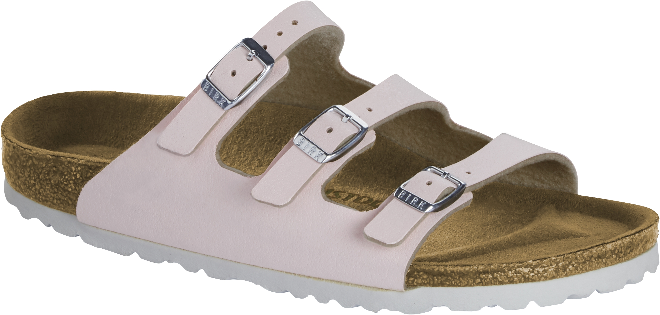 Birkenstock Pantolette Florida brushed rose 1016641