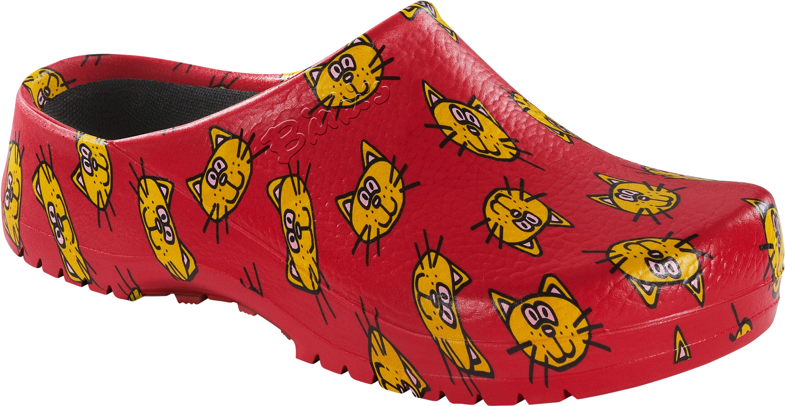 61c5641daa5478 Birkenstock Professional Clog Super Birki cat red Gr. 35 - 43 068631 ...