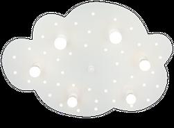 Deckenleuchte Wolkenträume (6-flammig)