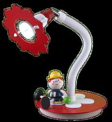 """Tischleuchte Feuerwehrmann """"Fred"""" (1-flammig)"""