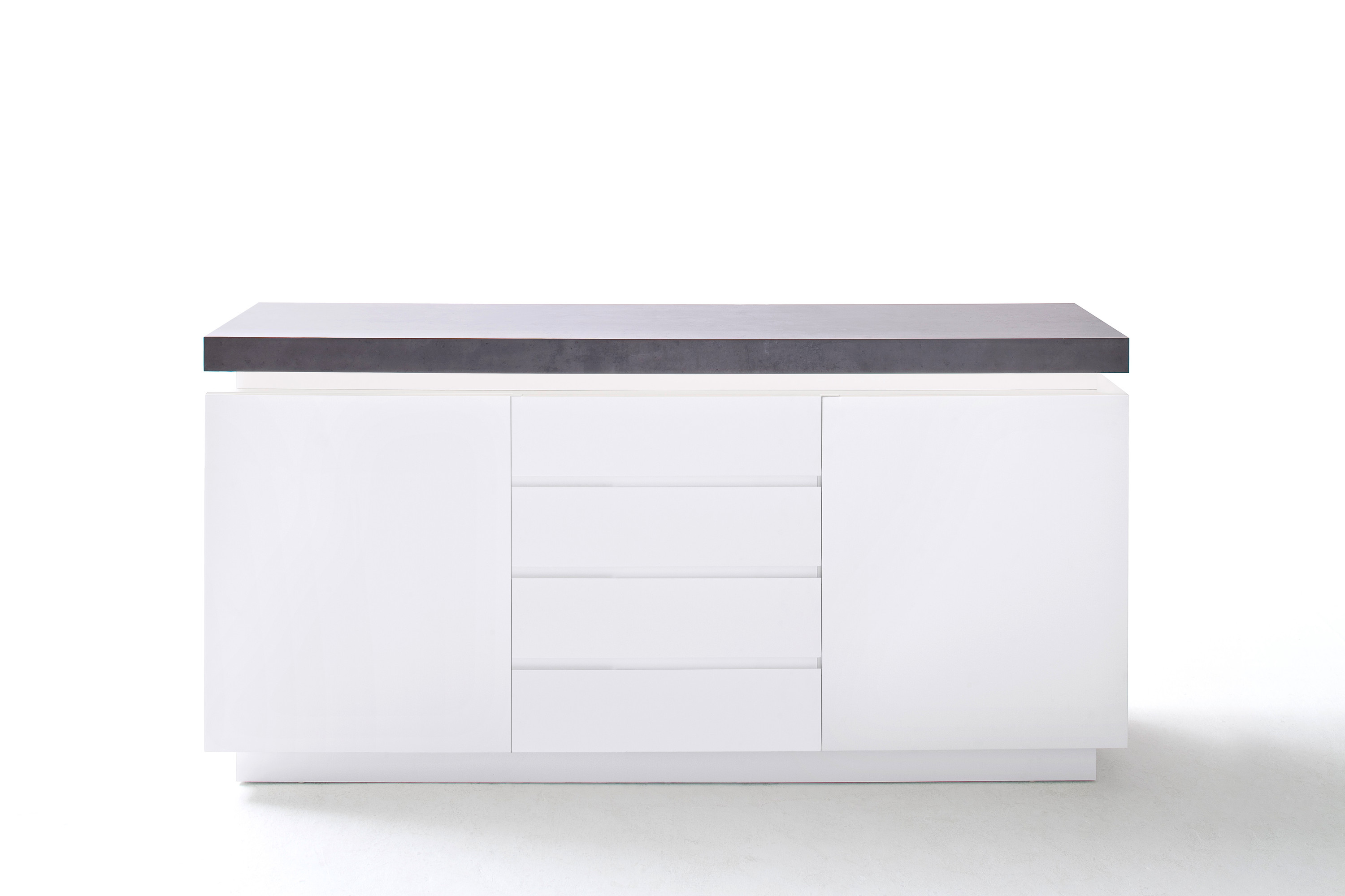 Sideboard Mit Led Beleuchtung | Sideboard Atlanta Inkl Led Beleuchtung Mobel Kommoden Sideboards