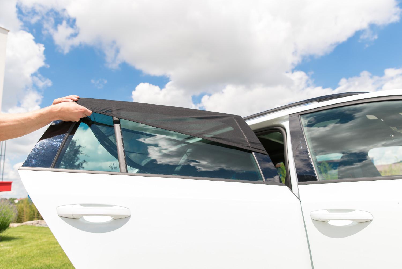 Autosonnenschutz Sonnenschutz Auto Sonnentuch Sonnenblende 2-tlg Seitenfenster