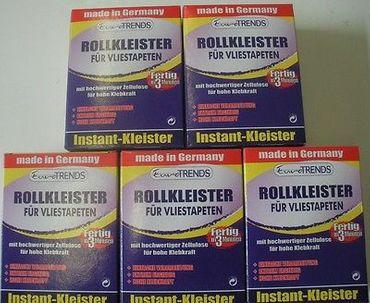 5 Pakete Vlies / Roll Kleister