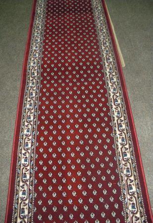 Orient Läufer - hochwertig - Mir rot - 67cm breit - nach Wunschmaß
