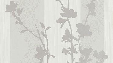 Vliestapete Ranken weiß grau Tapeten Vertiko Neo Erismann 6900-31 690031