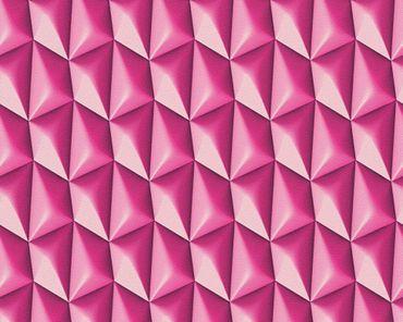3D Moderen grafische Vlies Tapete 32708-4  Mac Stopa Rot, Violett