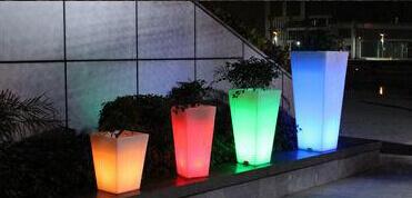 LED-Blumentopf