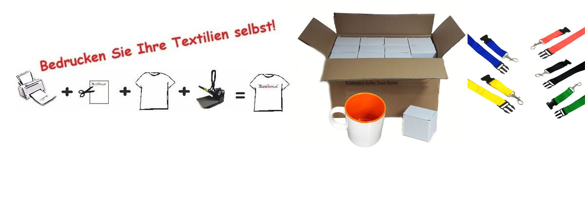 Sublimation + Werbeartikel