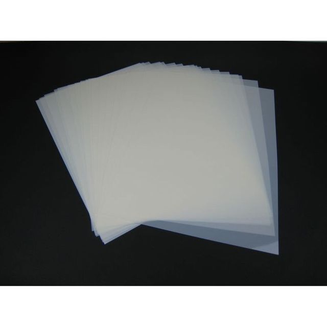 Mylar Schablonen Material 50Stück DIN A3 Folie Mylarfolie