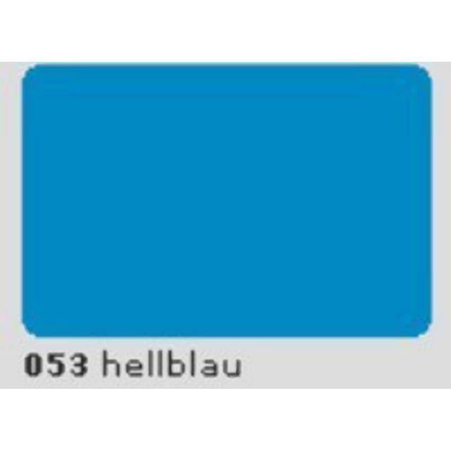 Oracal 651 Plotterfolie 63cm x 5m hellblau 053