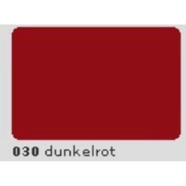Oracal 651 Plotterfolie 63cm x 5m dunkelrot 030