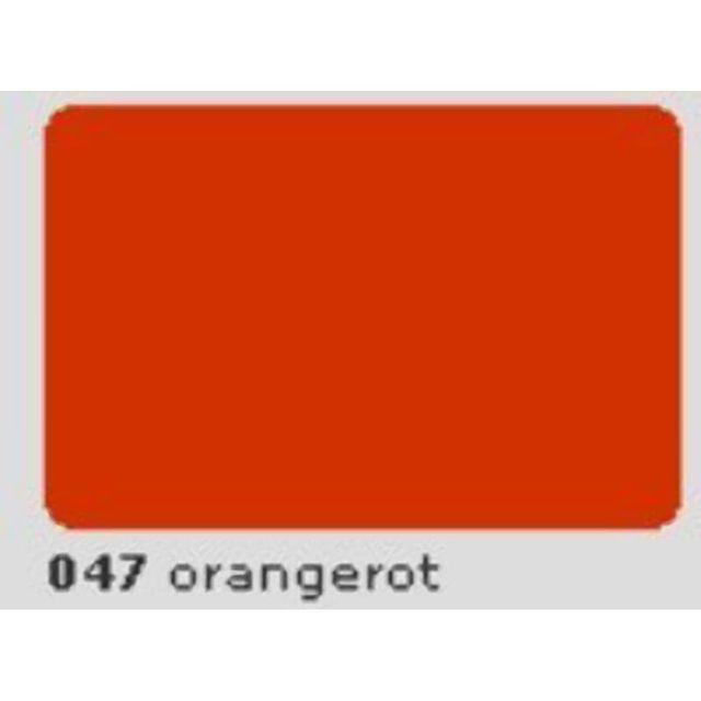 Oracal 651 Plotterfolie 63cm x 5m orangerot 047