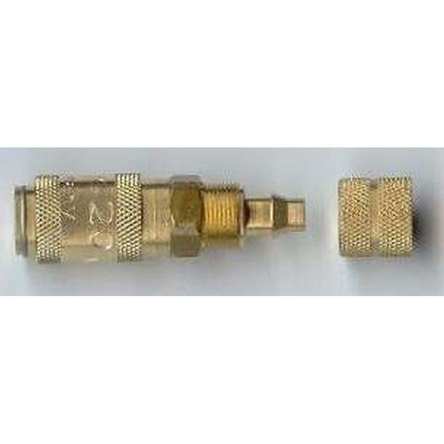 Schnellverschlußkupplung NW2,7 f. Kunststoffschlauch 4x6mm