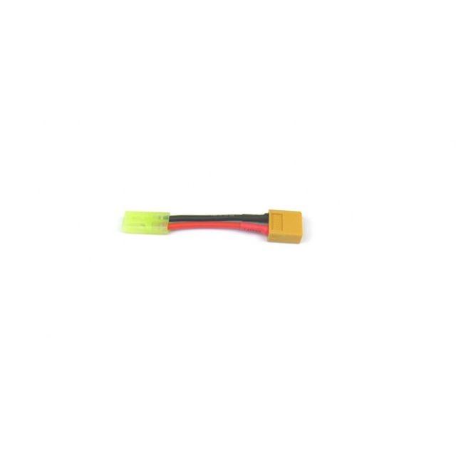 Adapterkabel XT60 Stecker auf Mini-Tamiya Buchse Adapter 16 AWG Silikonkabel 5cm