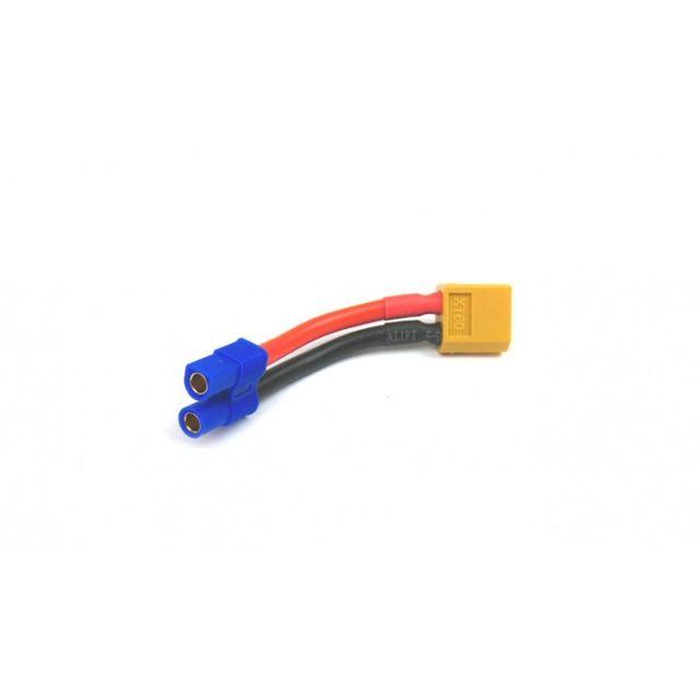 Adapterkabel XT60 Stecker auf EC3 Buchse Adapter 12 AWG Silikonkabel 5cm