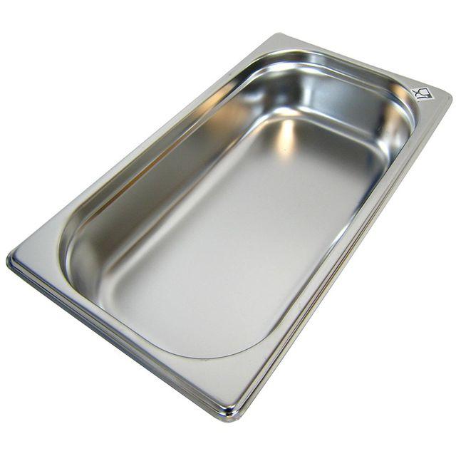 GN 1/3 Gastronormbehälter GN-Behälter Edelstahl 2,5 Liter Tiefe 65mm