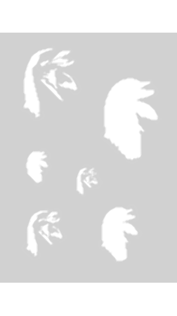 Createx Schablone Mylar - Delfine 1 Step-by-Step 262 533