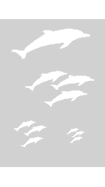 Createx Schablone Mylar - Delfine 3 Step-by-Step 262 535