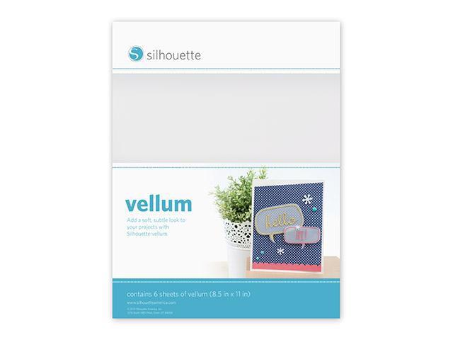 Silhouette Vellum - pergamentartiges Papier