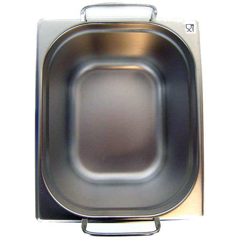 gn 1 2 gastronormbeh lter gn beh lter edelstahl 12 5 liter tiefe 200mm mit fallgriff. Black Bedroom Furniture Sets. Home Design Ideas