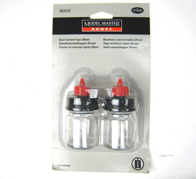 15cc Bottels with Cap 2 Modell Master