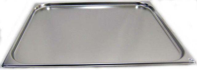 GN 2/1 Gastronormbehälter GN-Behälter Edelstahl 5,5 Liter Tiefe 20mm