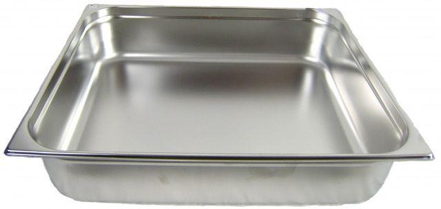 GN 2/1 Gastronormbehälter GN-Behälter Edelstahl 43,4 Liter Tiefe 150mm