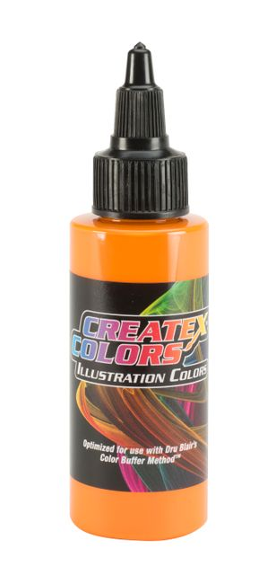 Createx Illustration Opaque Orange 30ml Airbrushfarbe