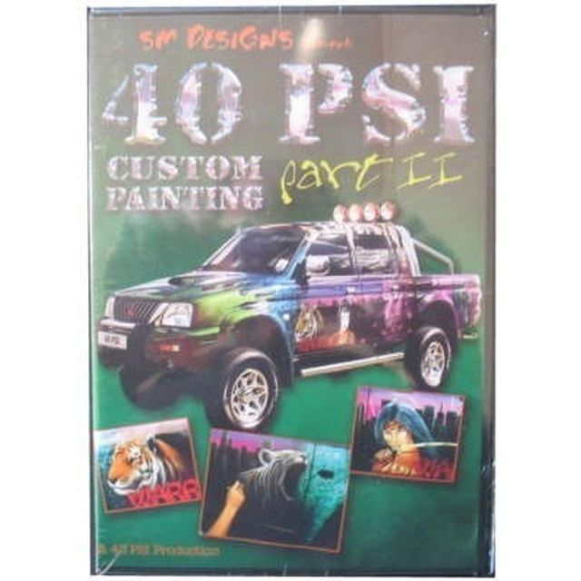 DVD 40PSI custom painting part II 220 007