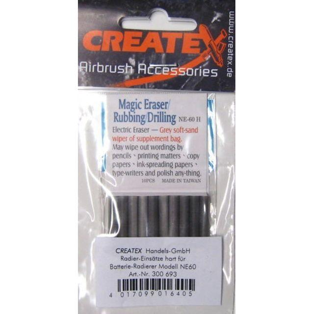 Ersatzradierer grau (10er Pack) hart 300 693