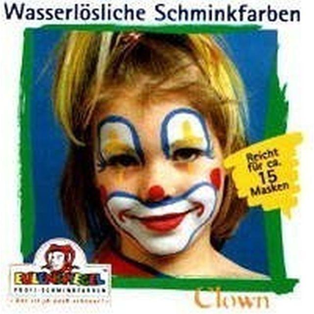 Eulenspiegel Profi Aqua Make Up Motiv - Set Clown