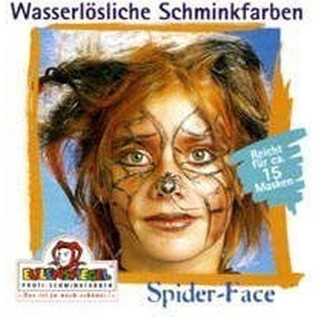 Eulenspiegel Profi Aqua Make Up Motiv - Set Spider Face