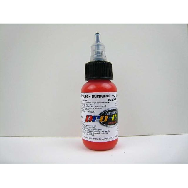 purpurrot - Hansa pro-color 30ml  60006 Airbrush Farbe
