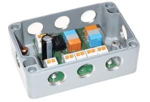 Bild 4-fach 1-Wire Ventilaktor in ALU Gehäuse