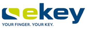 Logo eKey - Your Finger, Your Key