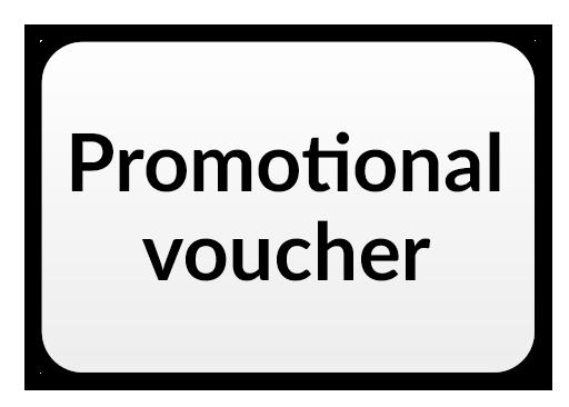 Promotional voucher Icon