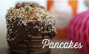 Gesunde Pancakes ohne Zucker-Zusatz