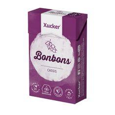 """50 g Xucker Xylit-Bonbons """"Cassis"""""""