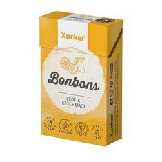 """Mindel-Food Lebensmittelproduktion GmbH 50 g Xylit-Bonbons """"Exotik"""" von Xucker"""