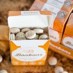 "50 g Xylit-Bonbons ""Kaffee-Karamell"" von Xucker von Mindel-Food Lebensmittelproduktion GmbH"