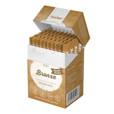 180 g Xucker Bronxe-Sticks in Schachtel (40 x 4,5 g)
