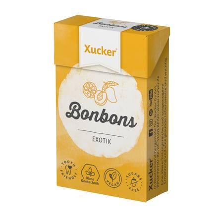 "50 g Xucker Xylit-Bonbons ""Exotik"" ohne Talkum"