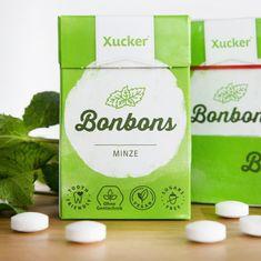 "50 g Xucker Xylit-Bonbons ""Minze"" ohne Talkum von Mindel-Food Lebensmittelproduktion GmbH"