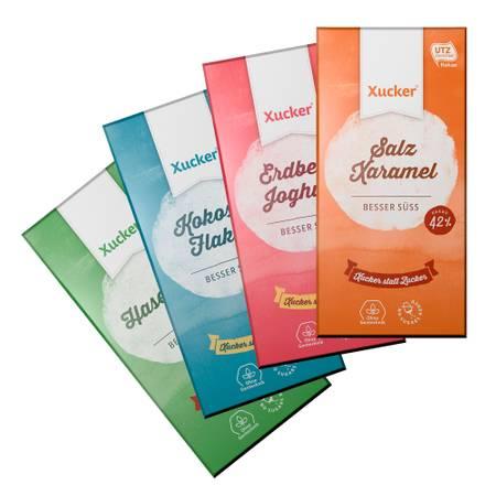 4er Xucker Schokoladenkombi - Spezial-Mix